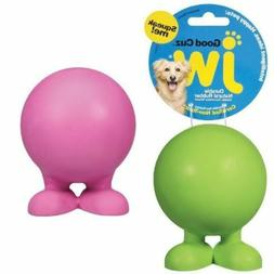 SMALL JW Good Cuz Dog Puppy Rubber Pet Toy ~ PICK COLOR