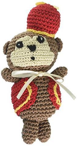 Mirage Pet Products 500-013 Knit Knack Fez Monkey Organic Co