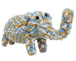 Knot Rope Ball Chew Dog Puppy Toy Pet Chew Toy Cute Elephant