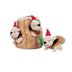 Outward Hound Kyjen  2575 Holiday Hide-A-Squirrel Interactiv