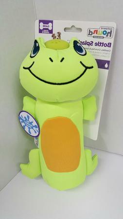 Outward Hound Kyjen 32086 Bottle Splashers Frog Plush Chew T