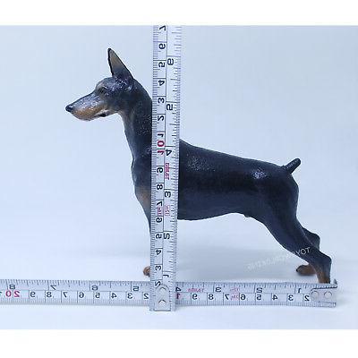 1/6 Small Dog Model Figurine Animal Toy 12