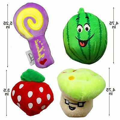 Jalousie 12 Pack Squeaky Cute Toys Small