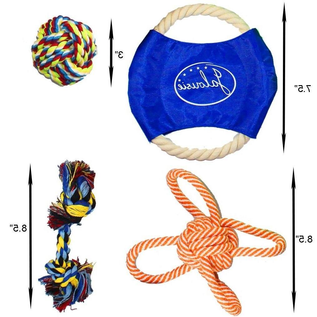 Jalousie Pack Chew Rope Assortment Medium Large Breed