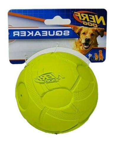 3 8 in bash squeaker ball green