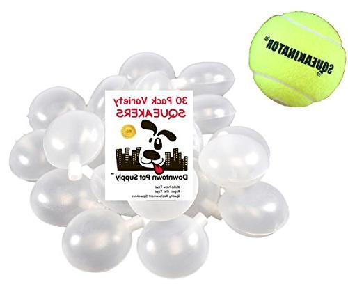 30 replacement squeakers