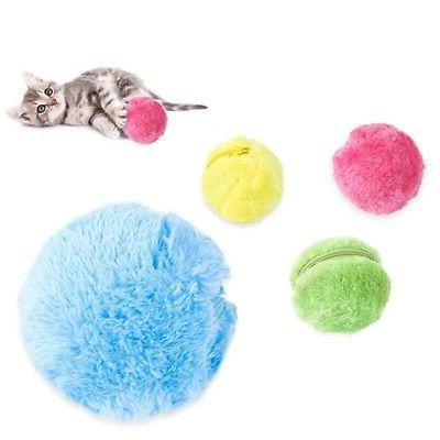 4pcs Magic Roller Ball Automatic Pet Dog Cat Active Rolling