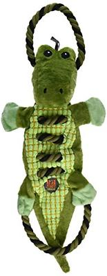 Charming 61128 Ropes-A-Go Go-Gator Squeak Toys