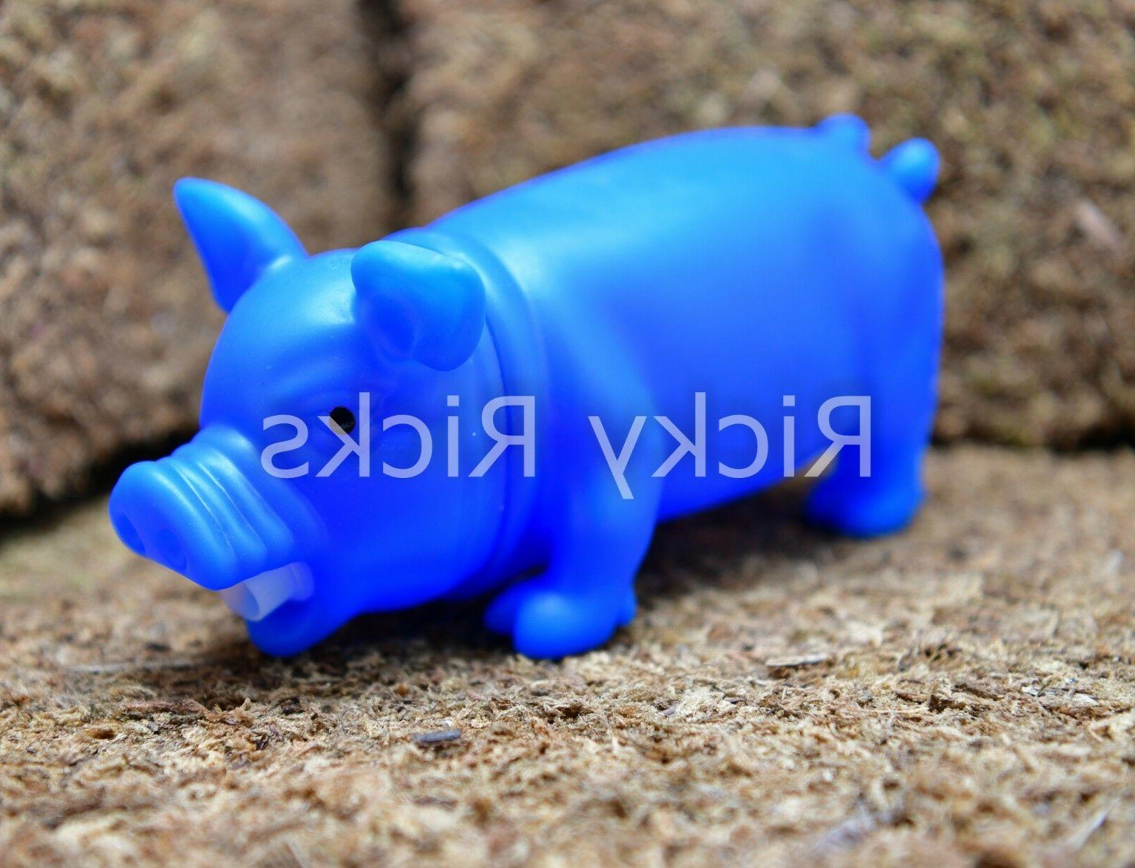 "8.5"" Toy Grunting Squeaky Rubber Puppy Chew Squeaker Dog"
