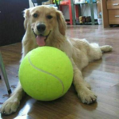 "9.5"" Oversize Giant Tennis Ball Pet Dog Puppy Toys Dog Fun O"