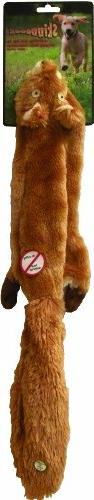 SPOT Ethical Pet Plush Skinneeez 24-Inch Dog Toy, Squirrel