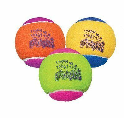 Air Kong Squeaker Birthday Balls Assorted 3pk