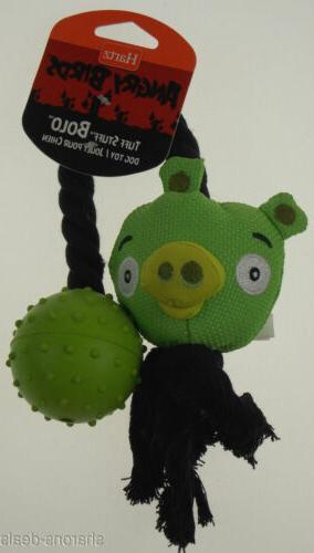 Hartz Angry Toys Set Green Ball Launcher Stuff Bolo