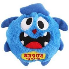 Petbobi Dog Interactive Monster Plush Ball Shake Squeak Crazy Bouncer Toys Toy for Entertainment