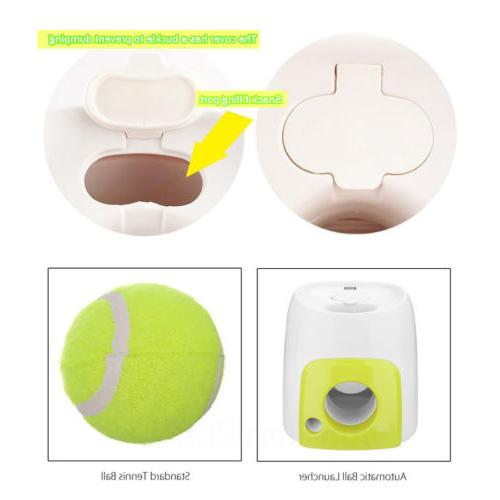 Automatic Tennis Interactive Fetch Thrower