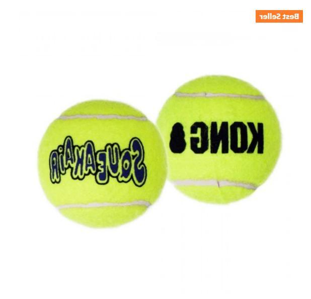 Ball KONG Squeaker Balls Squeaky Toy. Non-abrasive!
