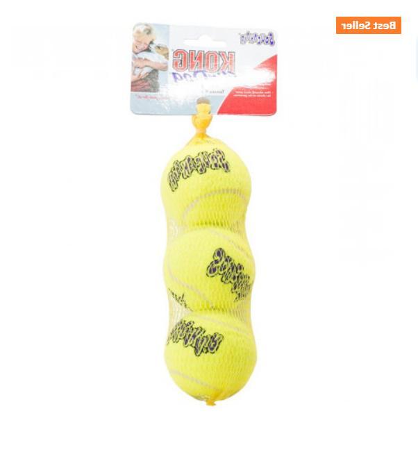 Ball KONG Dog Squeaker Tennis Balls Toy.
