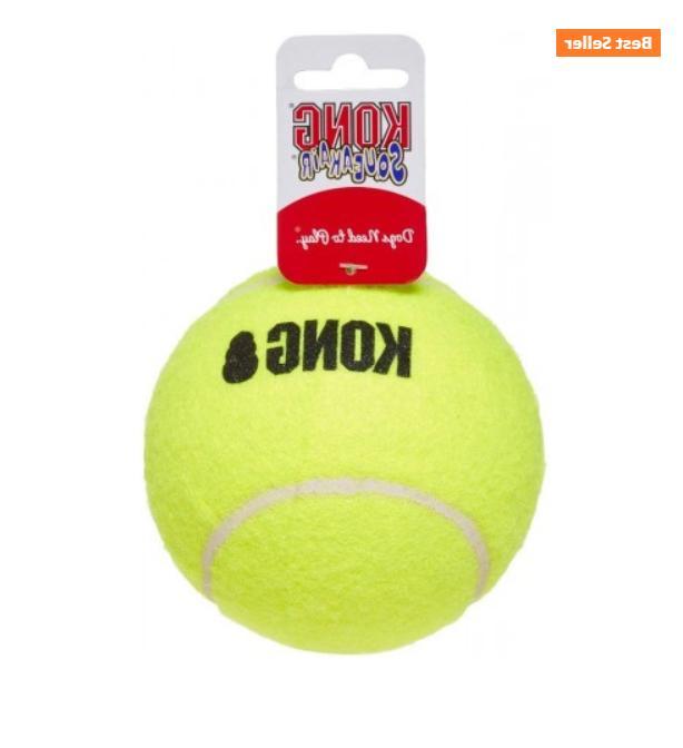 KONG Dog Squeaker Tennis Balls Non-abrasive!