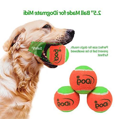 IDOGMATE Dog Ball Launcher, Rechargeable Tennis Ball