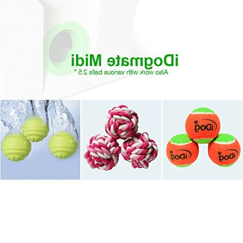 IDOGMATE Launcher, Automatic Rechargeable Ball