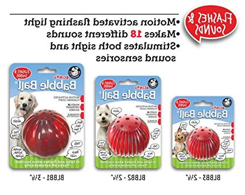 Pet Ball Interactive Flashes & Touched