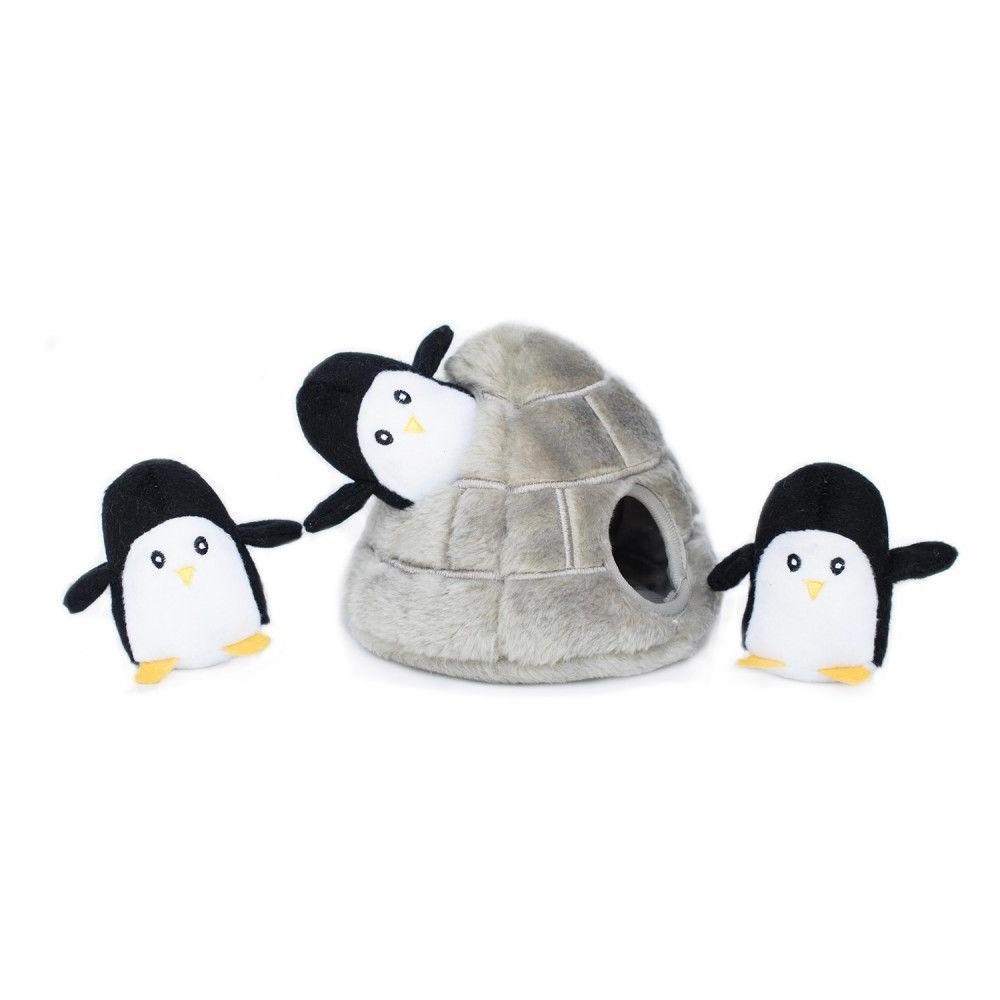 ZippyPaws Burrow Dog Toy - Penguin Cave - FAST SHIPPING!!