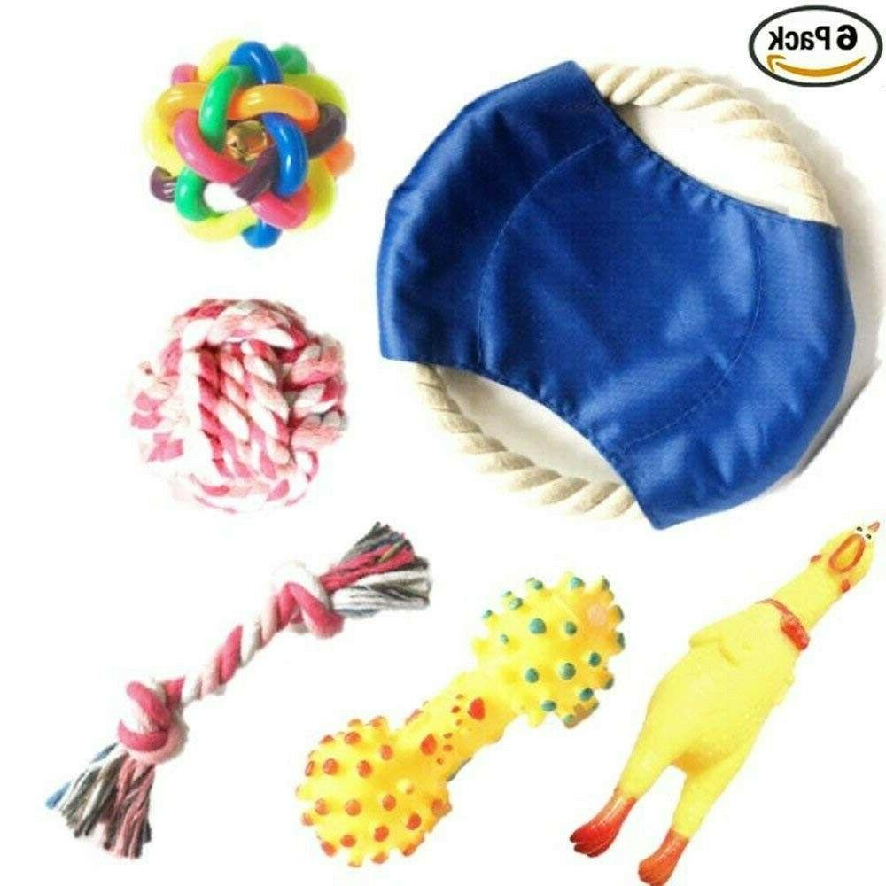 chew and squeaky dog toys for puppy