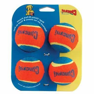 Chuck-It Ball Launcher Tennis Balls 4 / Pack Rubber
