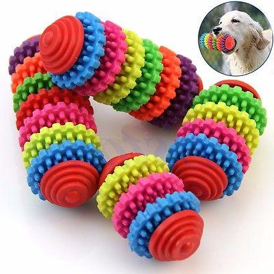 Colorful Pet Puppy Dental Healthy Teeth Gums Chewing