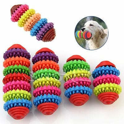 colorful rubber pet dog puppy dental teething
