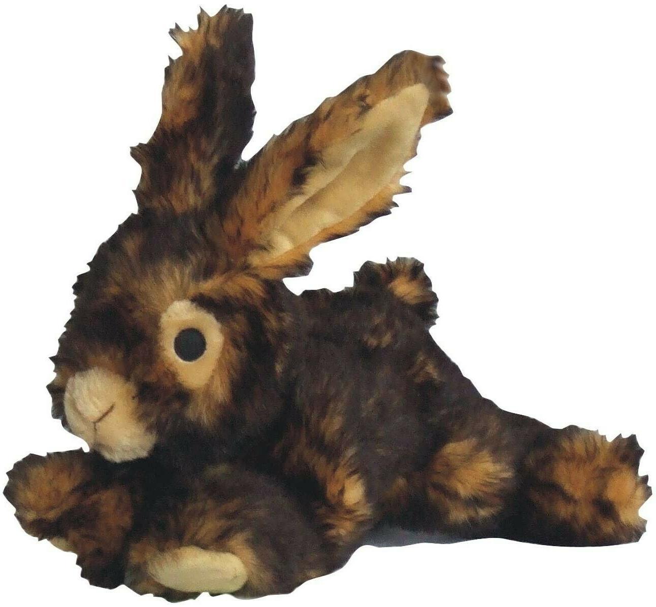 colossal rabbit plush chew toy