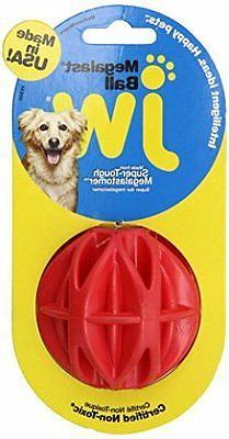 JW Pet Company MegaLast Ball Dog Toy, Medium Colors Vary