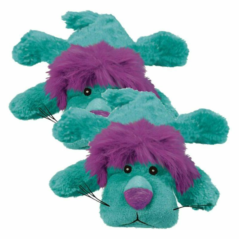Kong The Purple Haired Dog Toy, Blue
