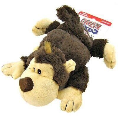 spunky monkey cozie dog toy