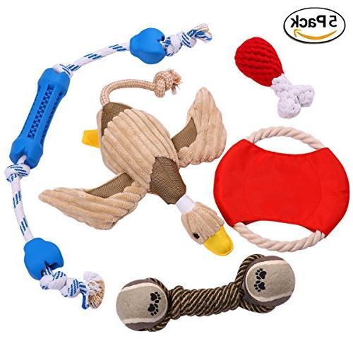 dog chew toys gift set