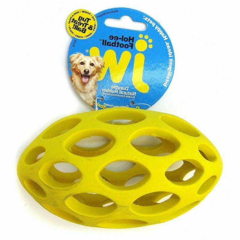 2 pack JW Pet For Dog Hol-ee Football Dog Toy Medium