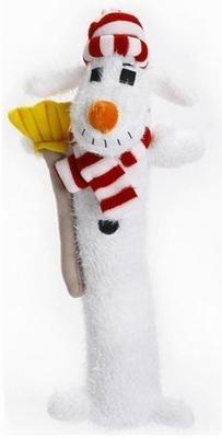 "Multipet Dog Holiday Toy THREE Piece Bundle. 12"" Loofa Toy #"