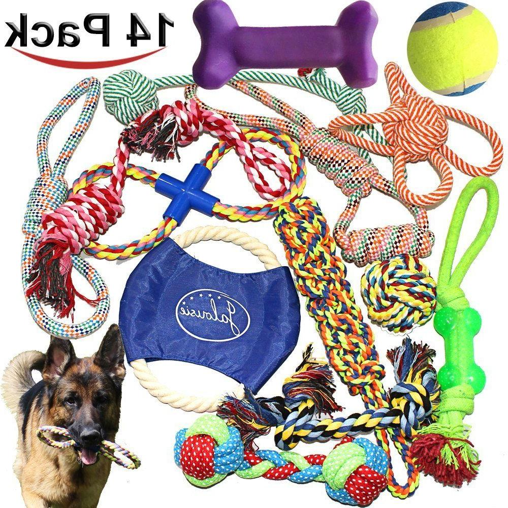 AGGRESSIVE CHEWERS OF 14 DOG TOY