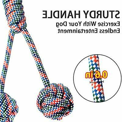 Dog Rope Toys Aggressive Chewers, Indestructible Dog Chew Cotton of