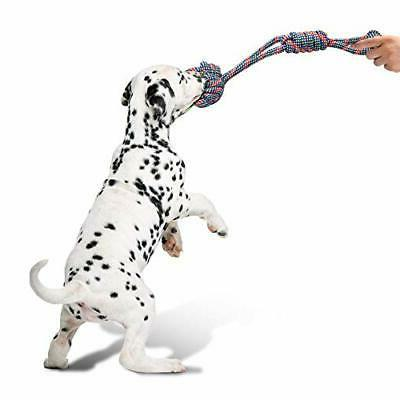 Dog Aggressive Chewers, Indestructible Dog Chew Rope Cotton of