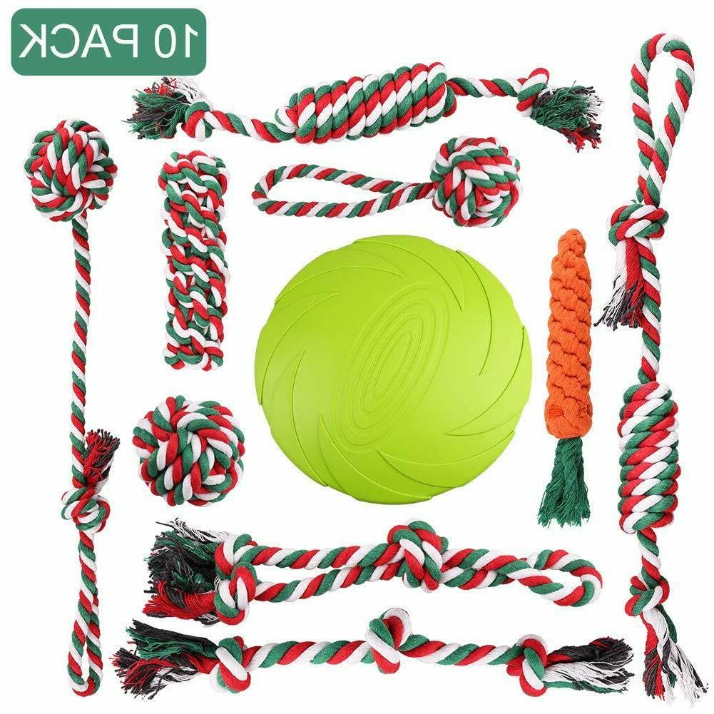 dog rope toys for aggressive chewers puppy