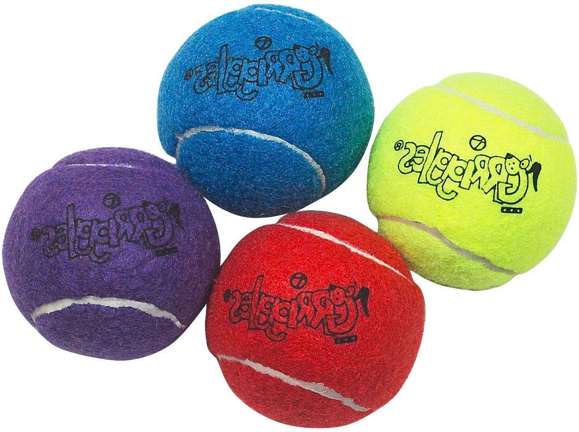 Dog Tennis 2.5 inch Toys Bulk Colors Vary