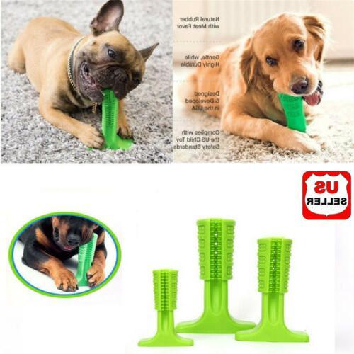 dog toothbrush pet brushing stick teeth cleaning