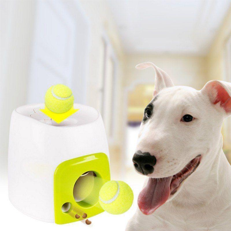 Dog Toy Automatic Ball Launcher Tennis Automatic Throwing Ma