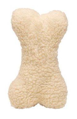Boss Pet Fleece Plush Characters Bone with Squeaker