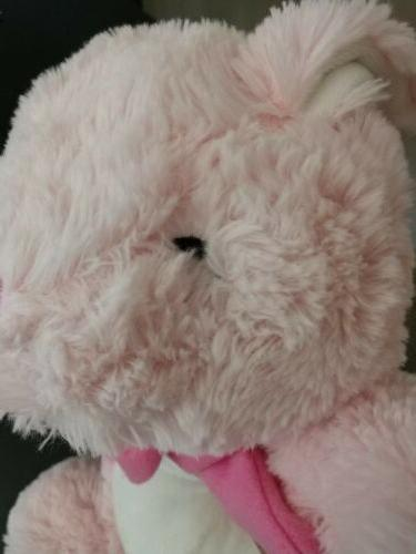 Dog Toy 2018 Pink Rabbit with Squeaker