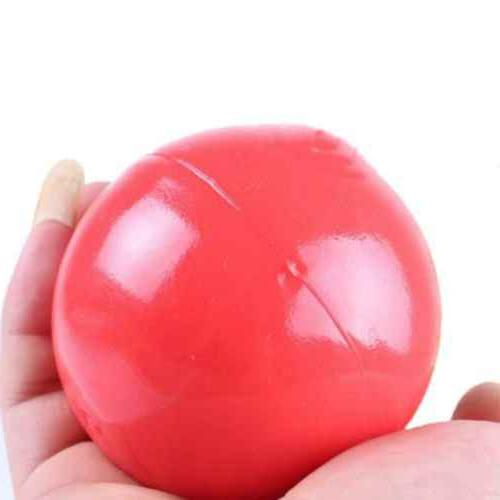Dog Toy Indestructible Solid Boomer Red Ball Size Pet Rubber Trainning