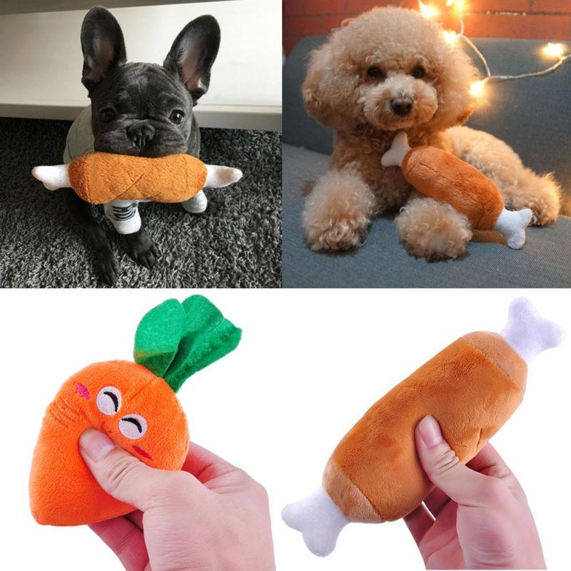 For Dog Toy Play Funny Squeaker Plush Sound