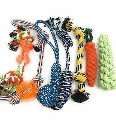 Dog Toys Puppy & Dog Rope - Chew Toy Puppy and Dogs