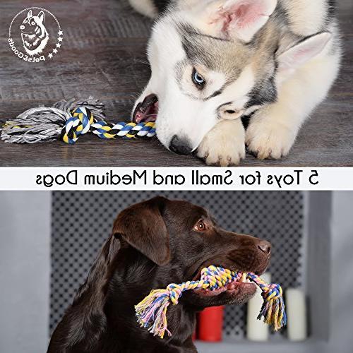 Dog Toys Chew Puppy Teething Toys - Dog Toy Puppy - Dog - Tug Toy - Dog Toy Washable Cotton Rope for